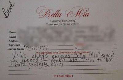 Bella Mia Fine Dining_4007