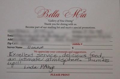 Bella Mia Fine Dining_4019