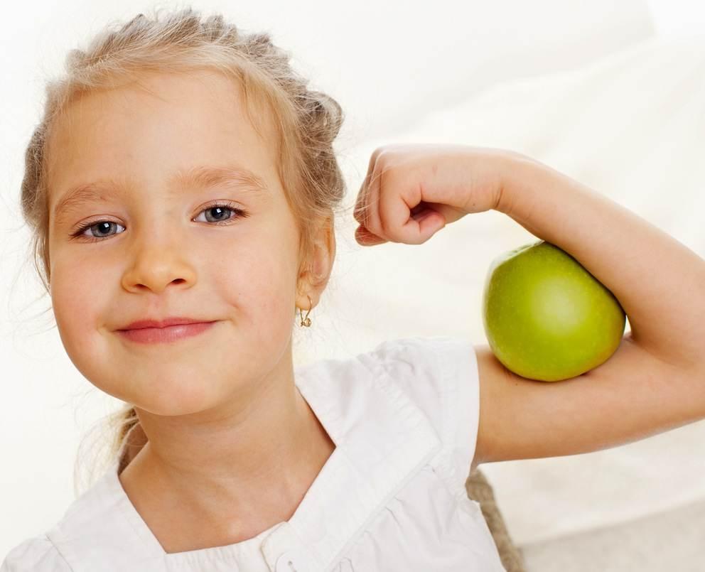 Шест лесни стъпки да подобрим имунната система на детето !
