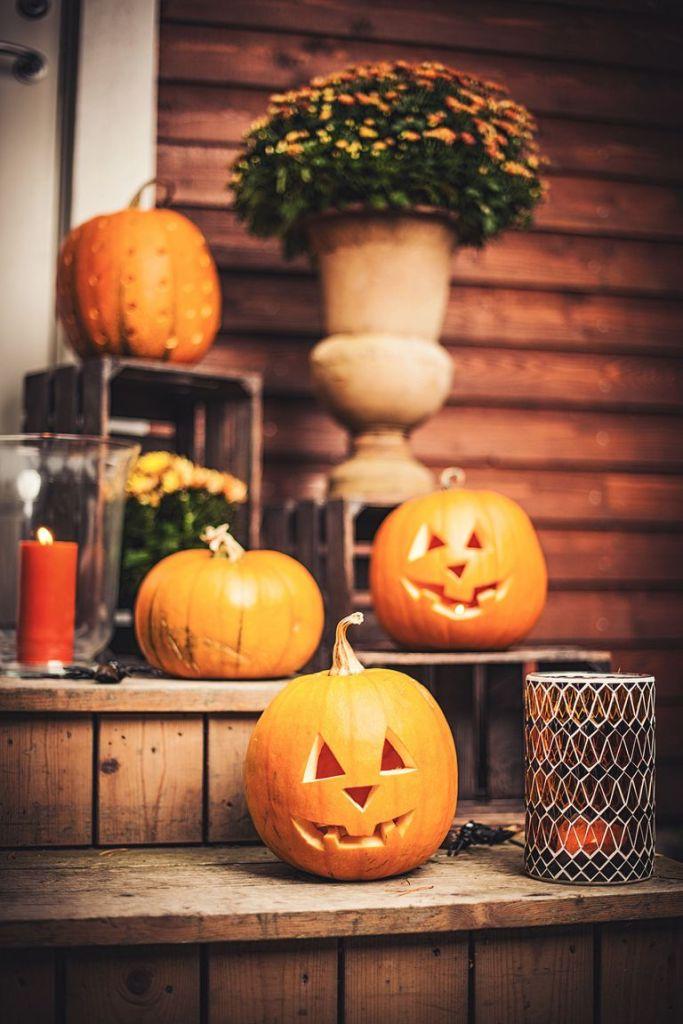 Страшни фенери от тиква за Хелоуин-bellamiestore