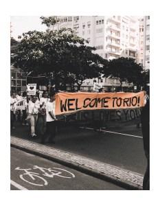 parade promenade rio brasil