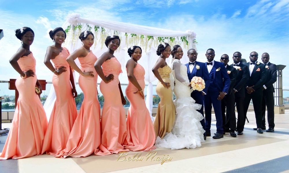 The Wedding Daddy Always Wanted ♥ Kashi & Rotimi's Outdoor