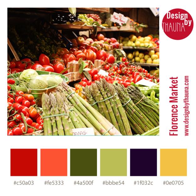 Florence Market - Color Palette