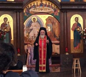 Abbot Nichols at st george