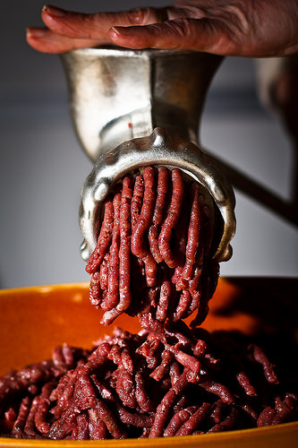 meat grinder photo