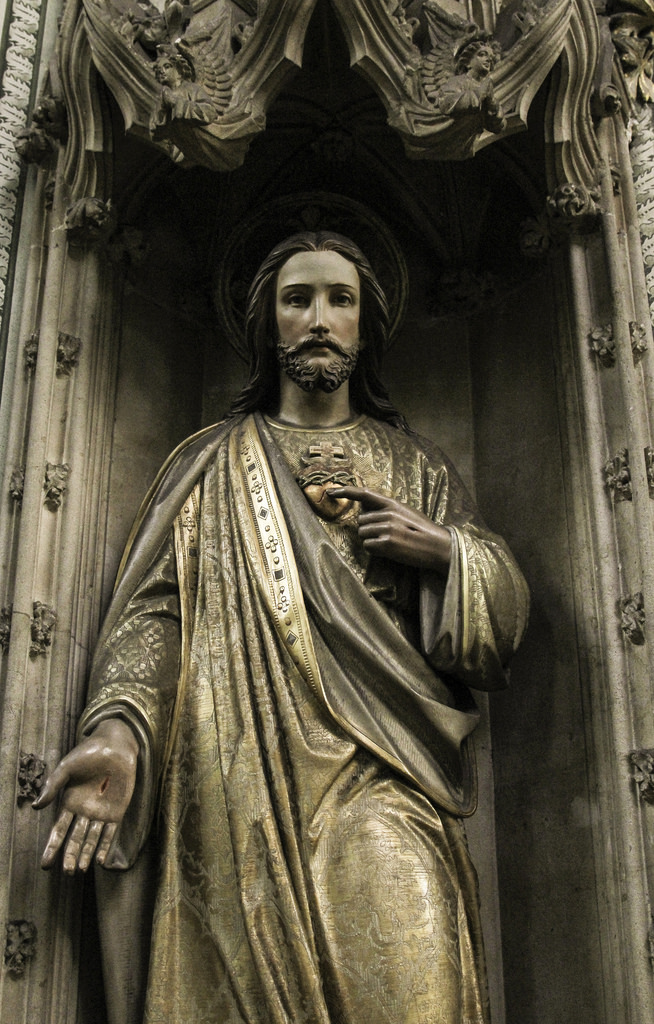 sacred heart jesus photo