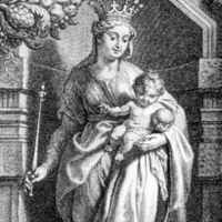 Act Like You Know the Queen:  Fr. Hardon Explains The Queenship of Mary