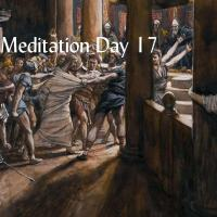 Lent Day 17:  Friday after the Second Sunday in Lent— Jesus Led Away Captive.