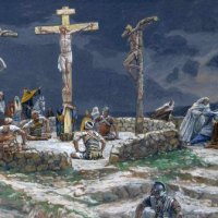 Lent Day 41: Monday in Holy Week — The Dereliction of Jesus on the Cross.