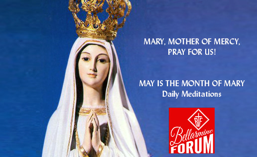 24th Day — Mary at the foot of the Cross.