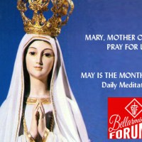 1st Day — Mary's Immaculate Conception.