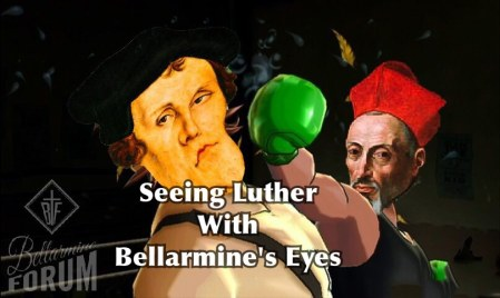 Bellarmine Punching Out Martin Luther