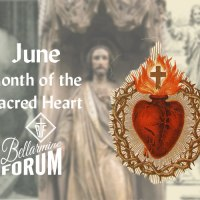 June 4 — The Sacred Heart formed in Mary's Womb.