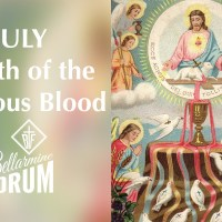 July 21st — The First Shedding of the Precious Blood.