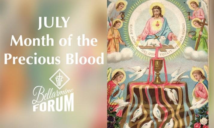 July Precious Blood of Jesus Meditations