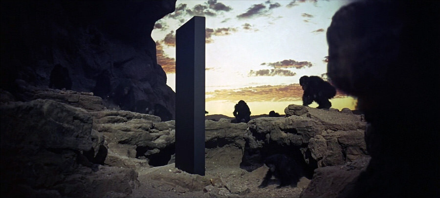 space odyssey monolith monkeys