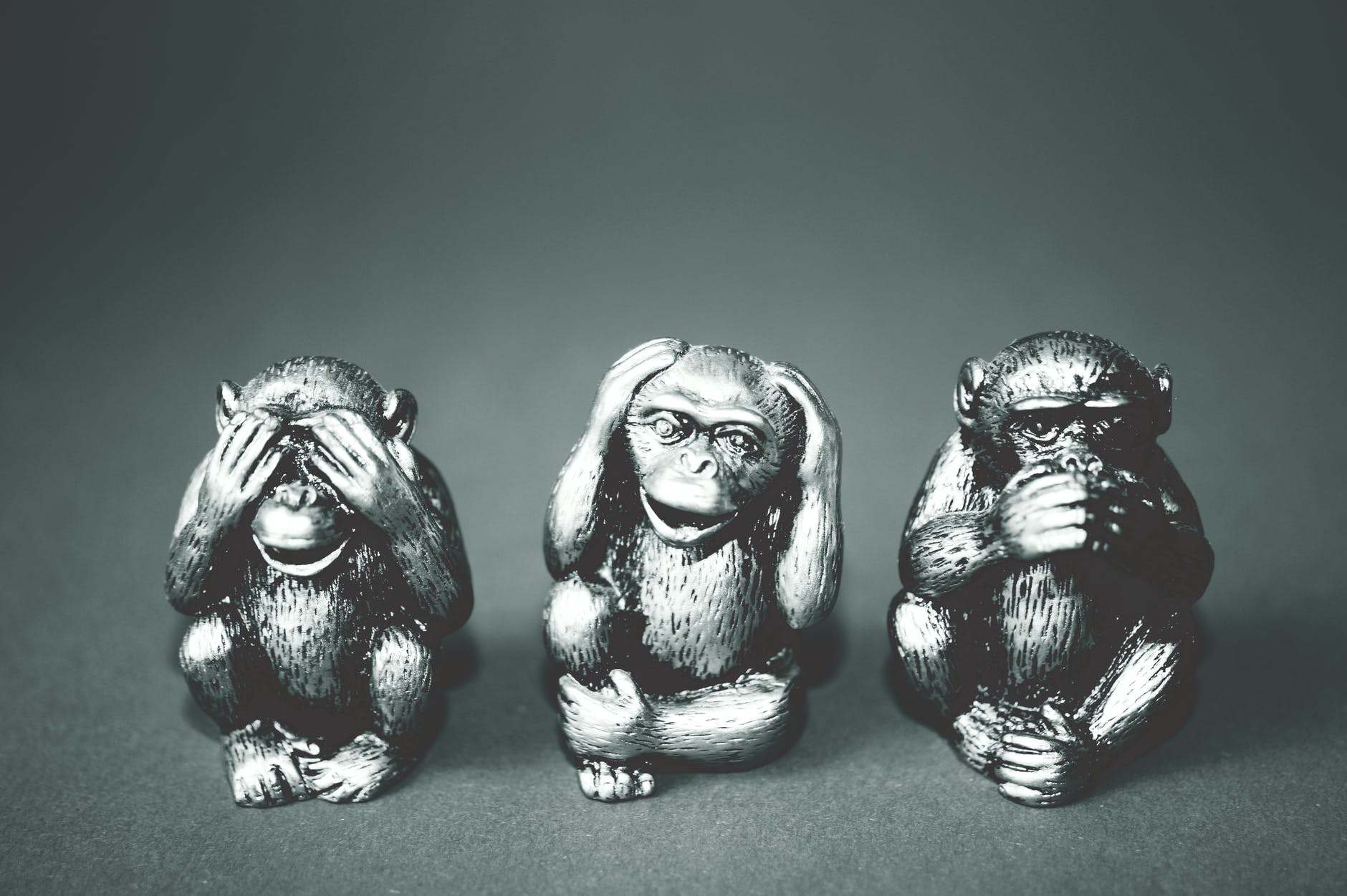 see no evil, speak no evil?