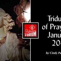 A Triduum of Prayer: January 20-22