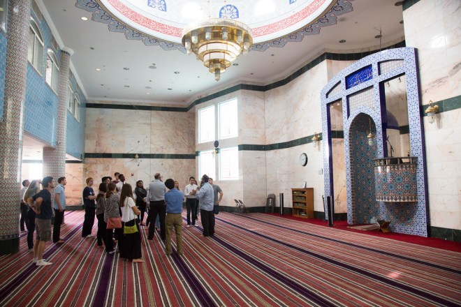BCLA Students visit King Fahad Mosque
