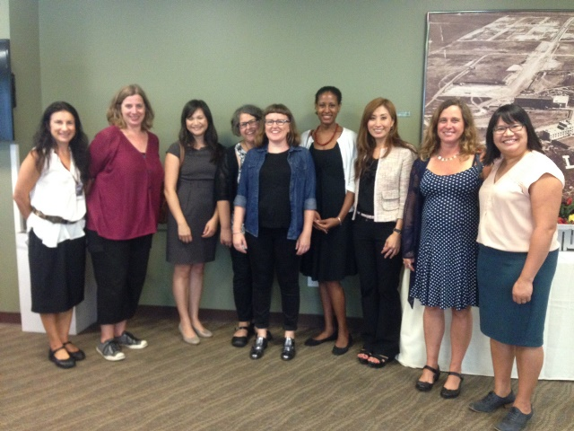 Faculty at Welcome 2 - 10 Years of Women's Studies at LMU: 2015 Fall Welcome Event