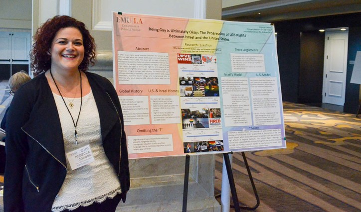 Being Gay is Ultimately Okay: A Comparison of LGB Rights Between Israel and the United States Rebecca Corona '16