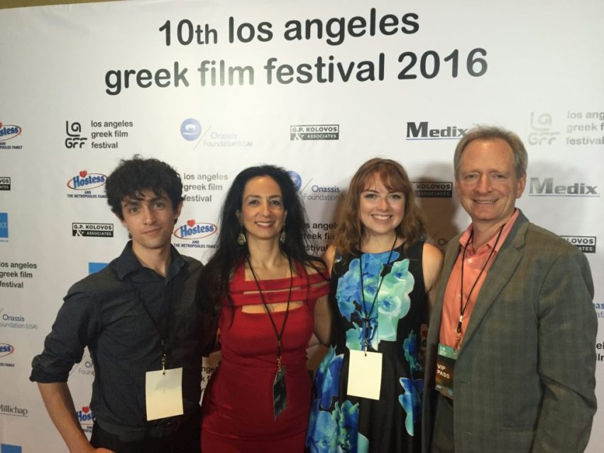 IMG 2247 1024x768 - Students Intern at LA Greek Film Festival