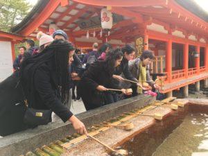 Dylan Japan 300x225 - LMU TOMODACHI Scholars tour Japan and discuss peace in Hiroshima