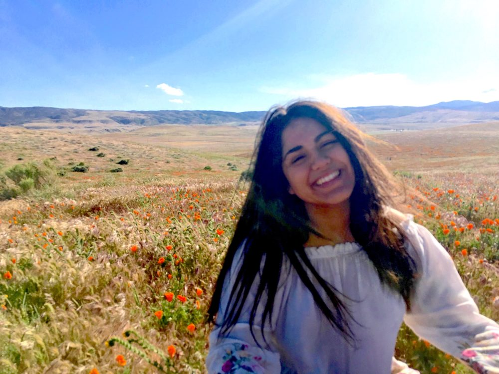 Melissa Cedillo Smiling in field