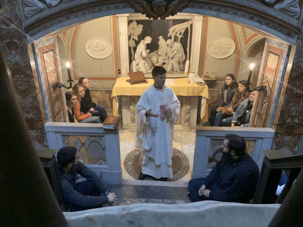 "1055 - Twelve Days Abroad Immersed in ""Christian Faith and Visual Culture in Rome"""