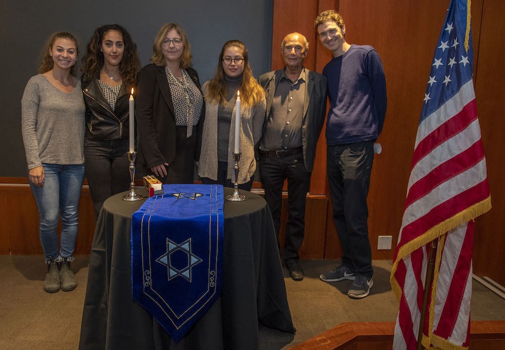 LMU community members commemorate Kristallnacht with candle lighting ceremony