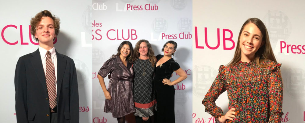 Press Club Feature Photo scaled - LMU Students, Alumni, and Faculty Honored by Los Angeles Press Club