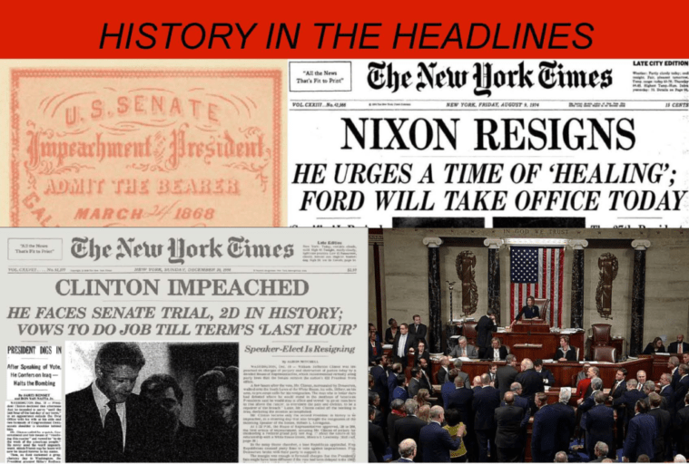 Hist Pols Impeachment 2020 BCLA News Feature Photo e1580320587472 - History in the Headlines: The History and Politics of Impeachment