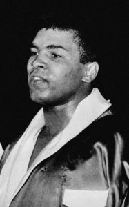 "Muhammad Ali 1963 187x300 - ""Islam in America"" Connects Students, Writing, Sports, and Spirituality"