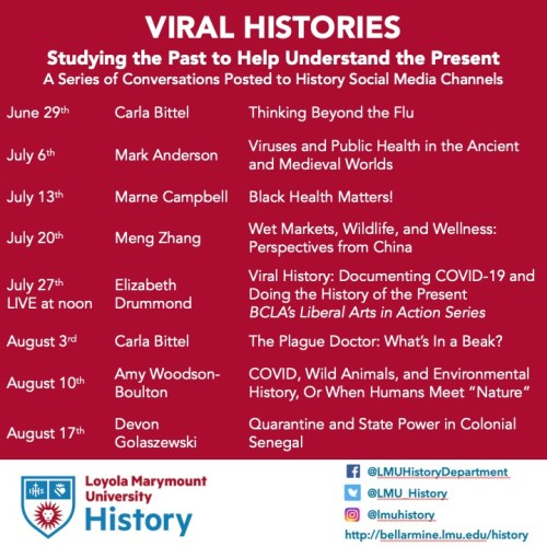 Viral Histories - Viral Histories: Pandemics, Health, and Power