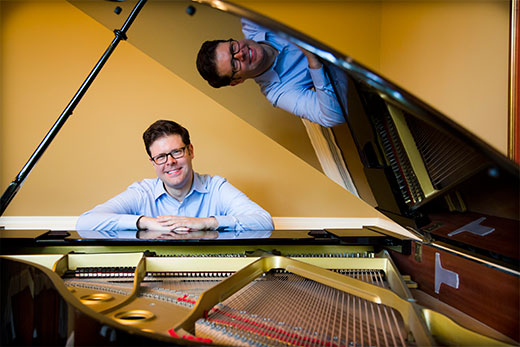 Tony Alonso piano - BCLA Alumnus and Emory Professor, Tony Alonso, is Nominated for a Latin Grammy