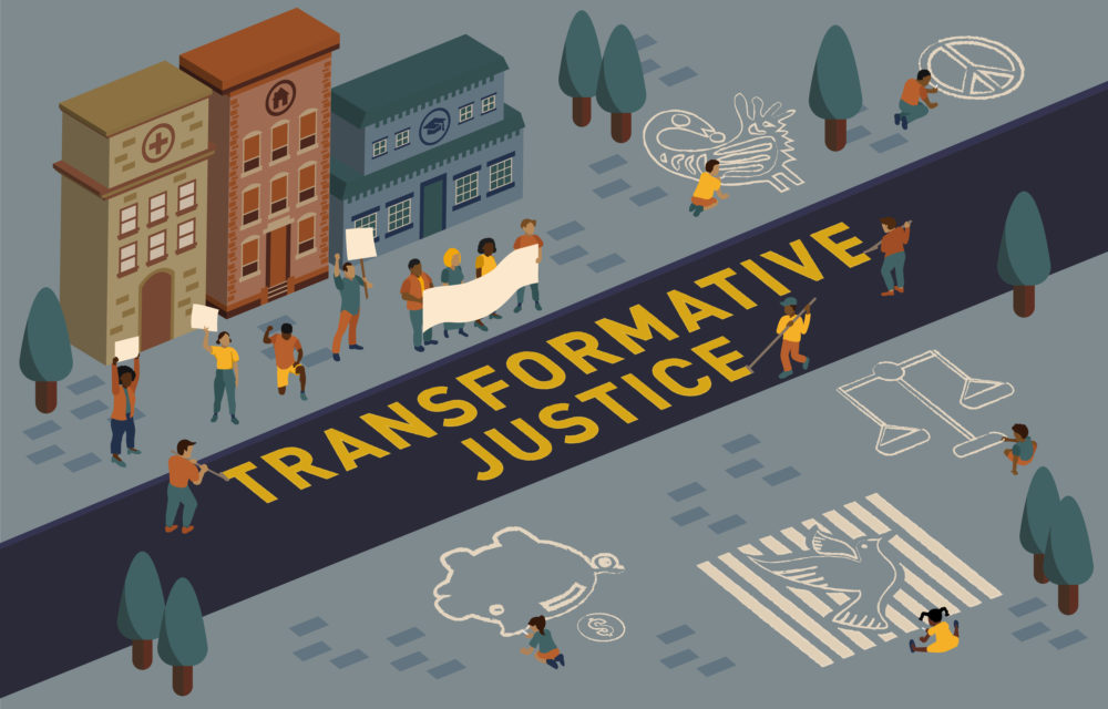 TransformativeJustice KeyArt SMv52 1 scaled - The Bellarmine Forum Announces Spring Events Focusing on Transformative Justice Where We Stand