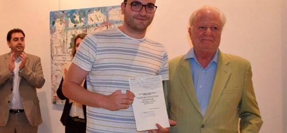 David Palomero gana el primer premio de la 31 edición del Certamen de Artes Plásticas Fernando Zóbel