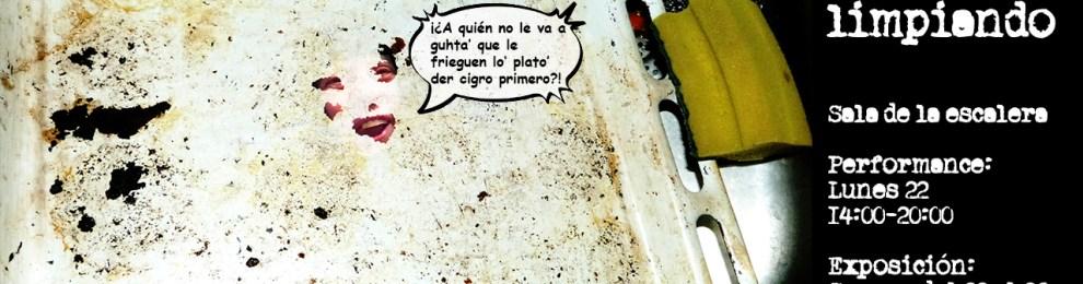 'Pasen, solo están limpiando' –Performance de Carmen Fragoso y Lúa Gael Paz