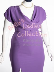 Size 22 ladies office dress, Purple