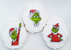 The Grinch is adorable but delicious too, and make the perfect stocking stuffers and we ship!
