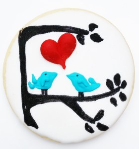Gorgeous and delicous Valentines Day gift cookie for someone special, LGBTQ