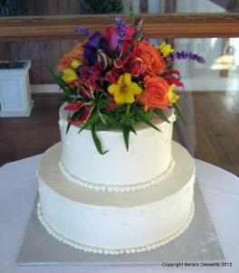 basic wedding cake