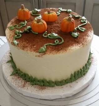 Fall themed gluten free cake