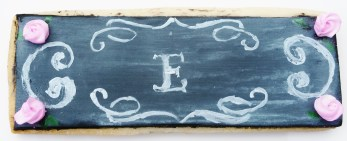 wedding favor chalkboard