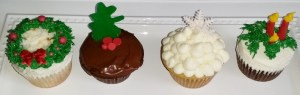 Delicious holiday cupcakes to dazzle your Christmas or Hanukkah party