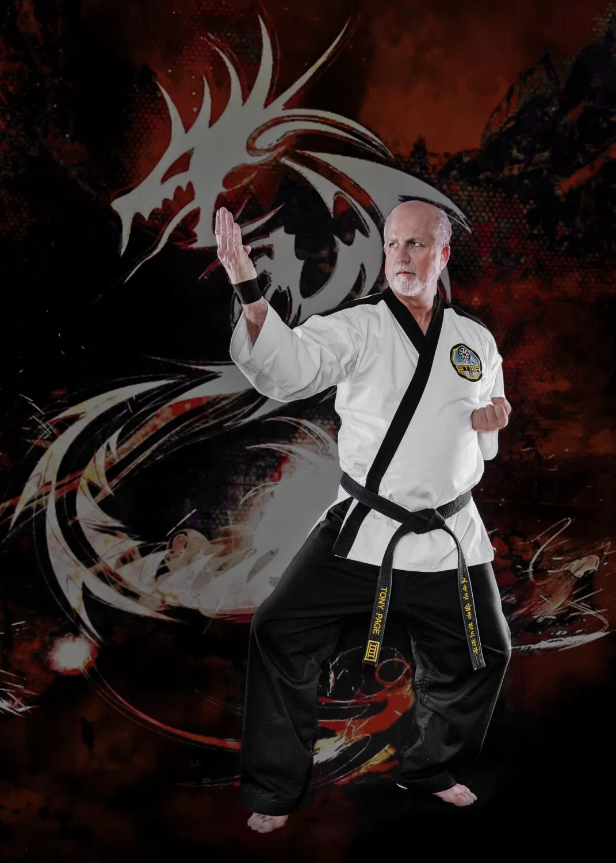martial art portrait taekwondo