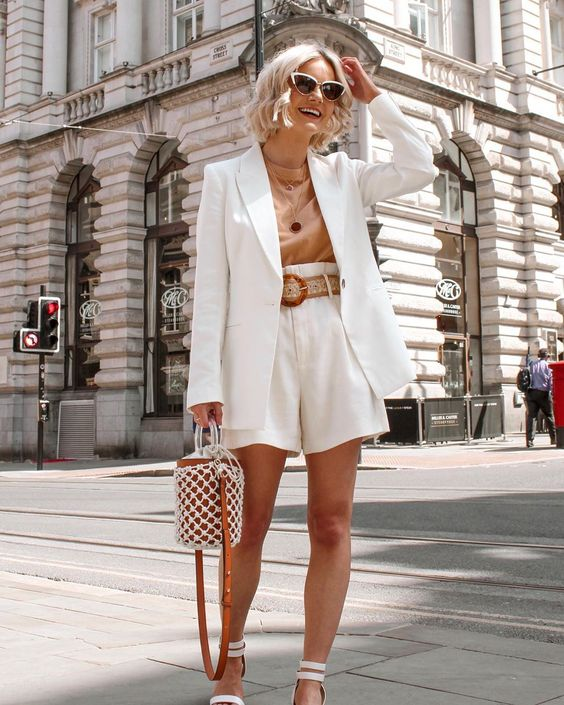 Shorts suits for summer