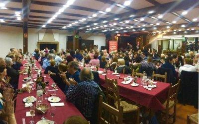 Miquel Iceta participa al sopar de Nadal del PSC Cerdanyola amb 150 persones