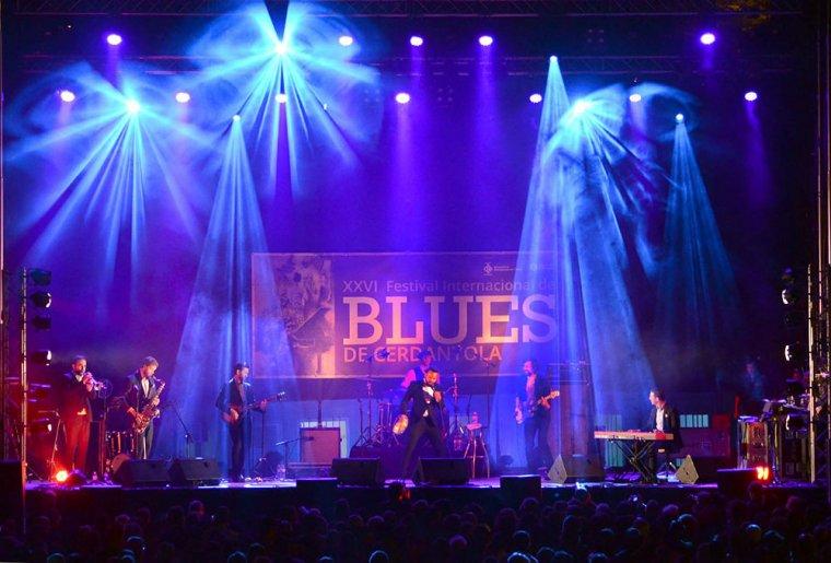 Una actuació durant la XXVI edició del Festival de Blues de Cerdanyola   Cedida