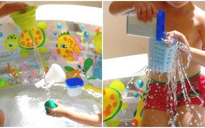 8 jocs d'experimentació a la piscina inflable o a la banyera